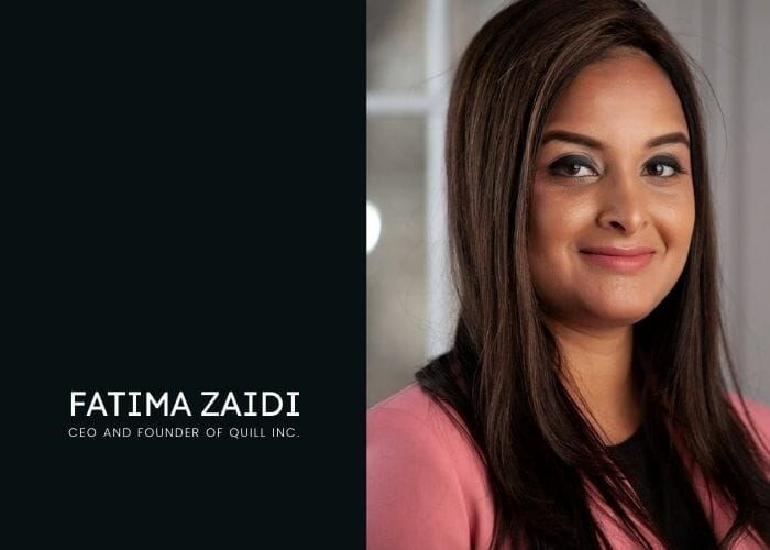 Inspiring Woman Entrepreneur to follow – Fatima Zaidi