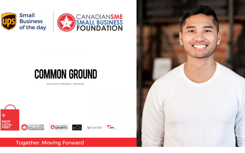 Today's UPS small business of the day is COMMON GROUND