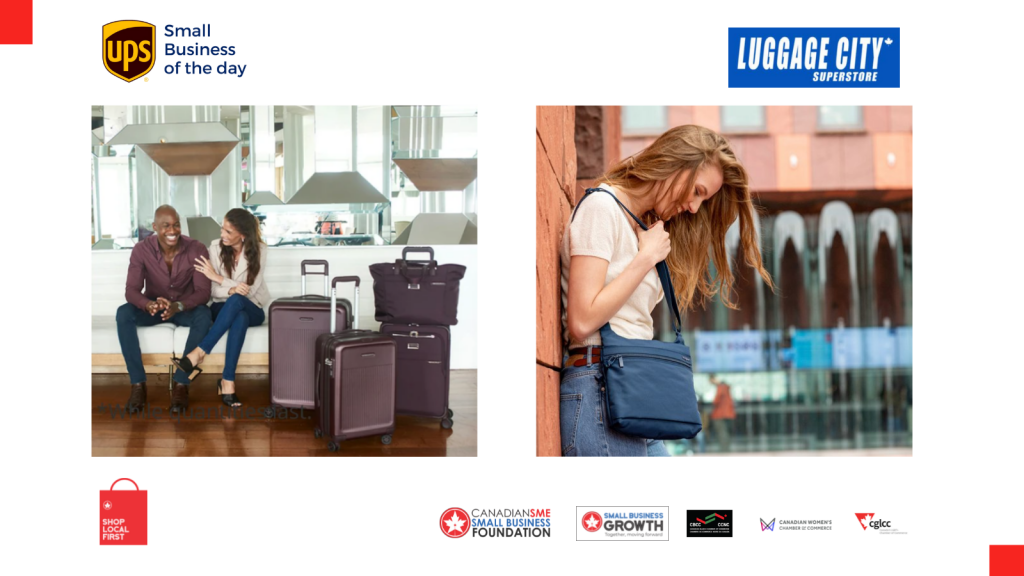 Today's UPS small business of the day is Luggage City